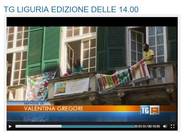 """07 Giugno - TGR Liguria delle ore 14 di domenica 7 giugno 2015 (dal minuto 3' 50"""")"""