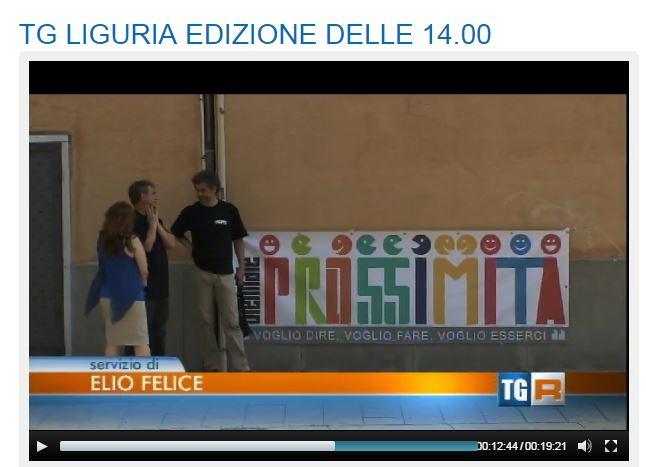 """06 Giugno - TGR Liguria delle ore 14 di sabato 6 giugno 2015 (Biennale dal minuto 12' 37"""")"""