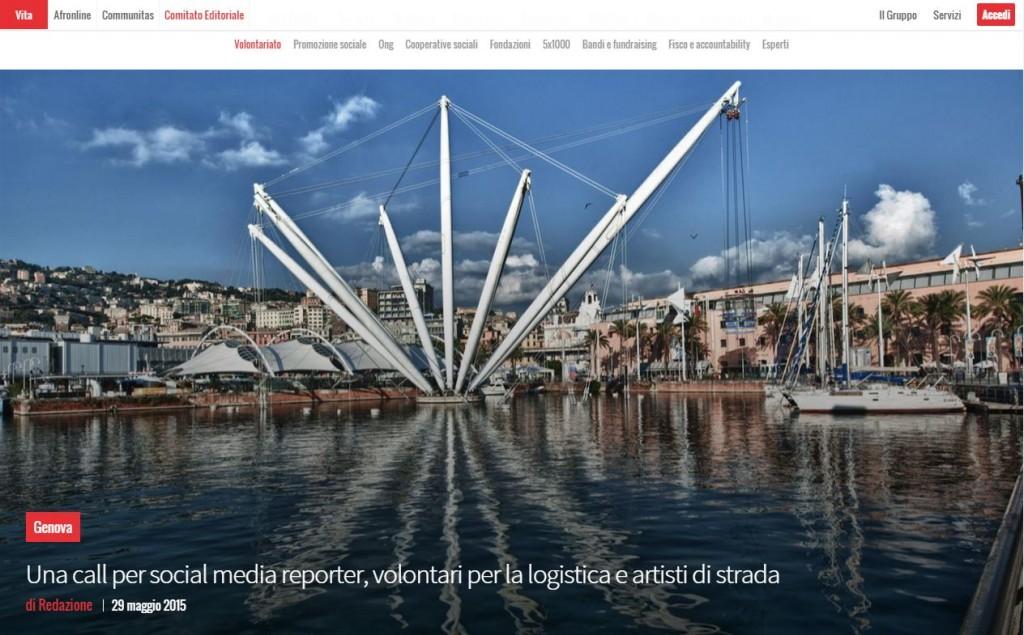 29 Maggio - Articolo sulla Biennale su Vita