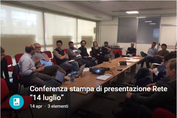"""Alle Biennale della Prossimità di Genova nascono le premesse per la costituzione della Rete """"14 luglio"""""""