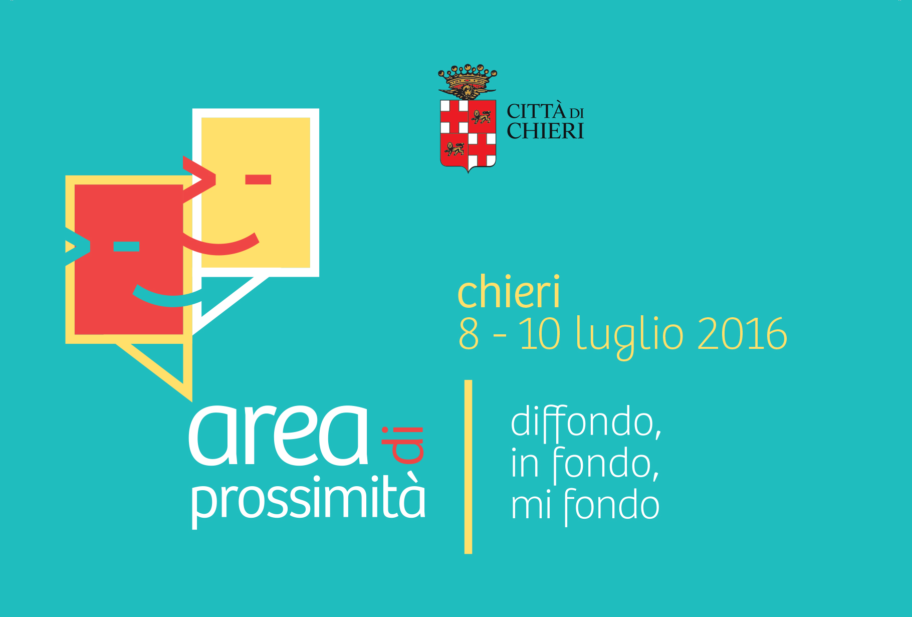 La Città di Chieri ospiterà la prima Giornata di Prossimità d'Italia