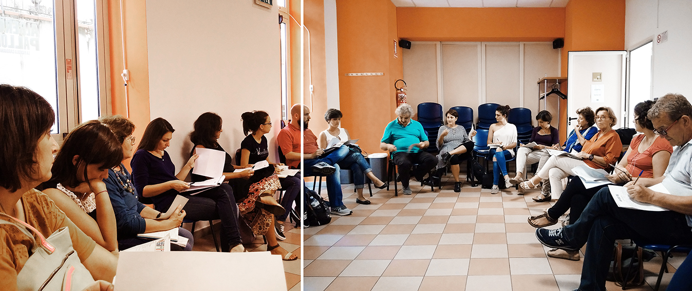 8 settembre 2016: riunione dei promotori locali a Bologna