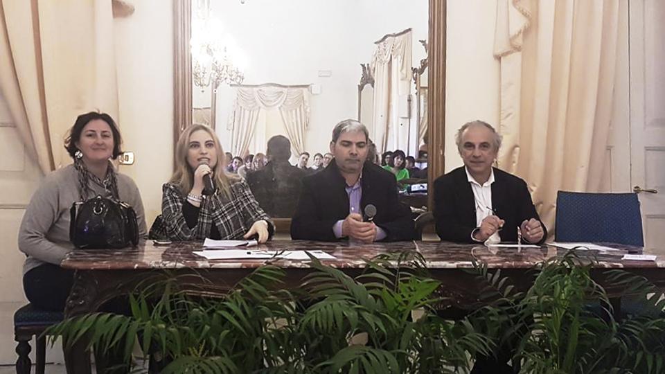 6 aprile 2018: primo incontro a Taranto con le realtà locali