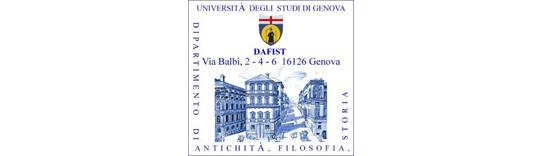 DAFIST - Università degli Studi di Genova