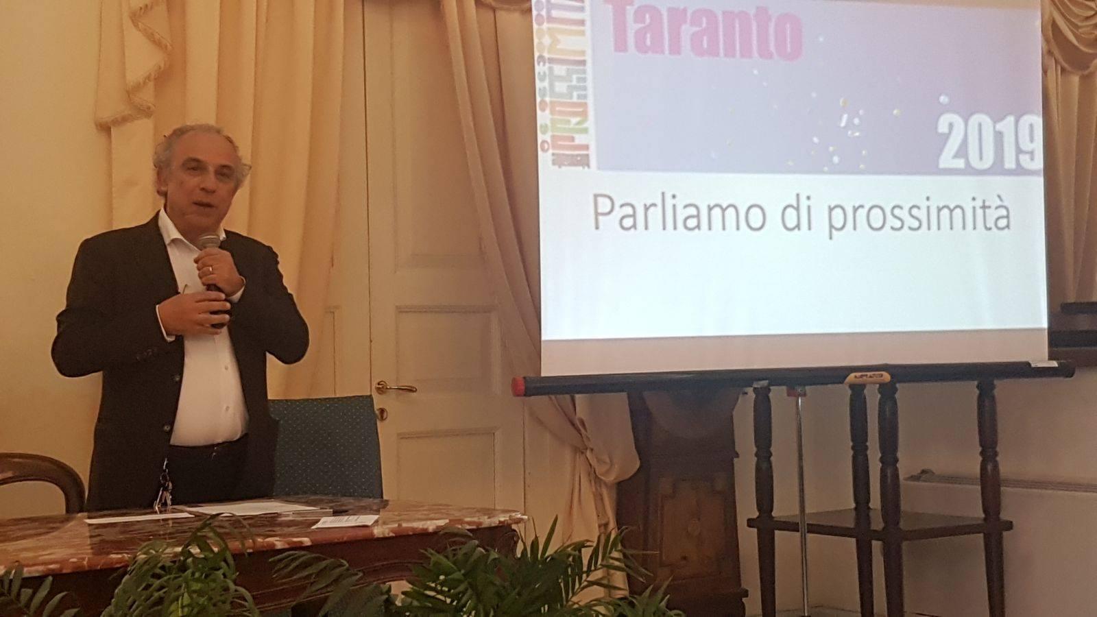 primo incontro a Taranto con le realtà locali