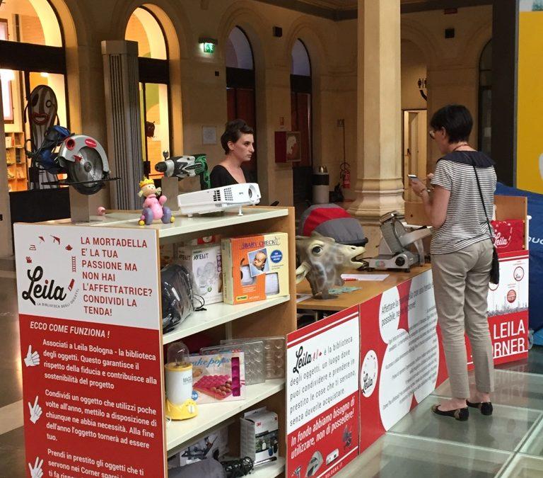 Associazione Leila – La biblioteca degli oggetti a Bologna