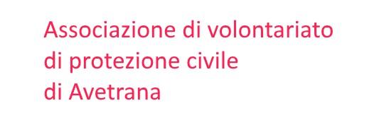 116. Associazione volontariato di Protezione civile - Avetrana