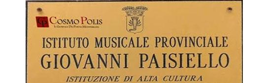 165. Istituto Musicale Paisielllo - Taranto